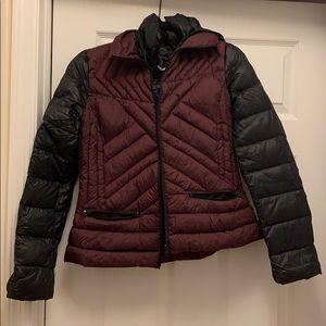 Bernardo Packable Down Coat with Convertible Hood